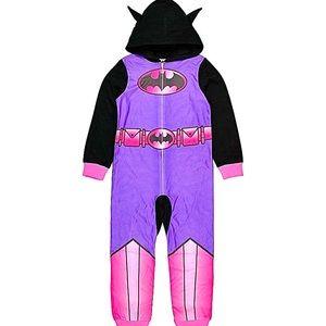 DC Comics Batgirl Girls' Hoodie Pajama